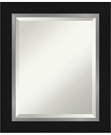"Eva Silver-tone Framed Bathroom Vanity Wall Mirror, 21.25"" x 25.25"""