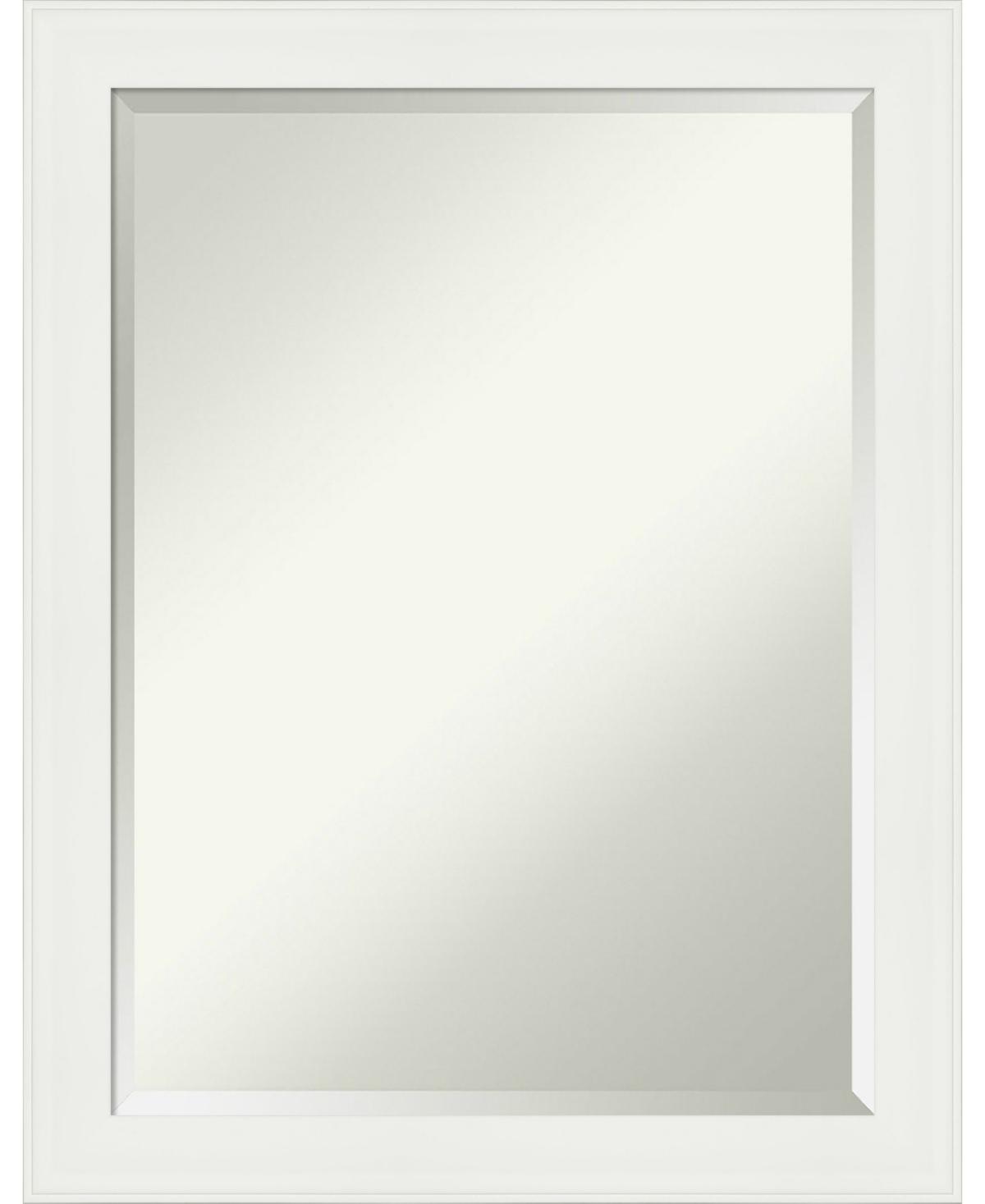 Amanti Art Vanity Framed Bathroom Vanity Wall Mirror, 21.38