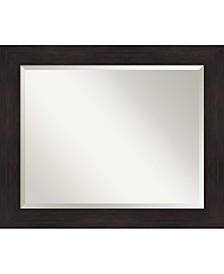 "Furniture Framed Bathroom Vanity Wall Mirror, 33.38"" x 27.38"""