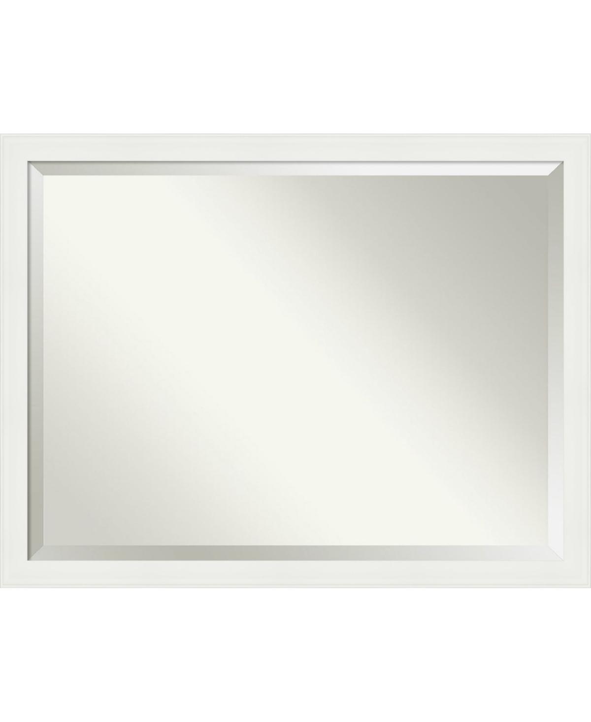 Amanti Art Vanity Framed Bathroom Vanity Wall Mirror, 43.38