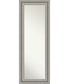 "Parlor Silver-tone on The Door Full Length Mirror, 19.5"" x 53.50"""