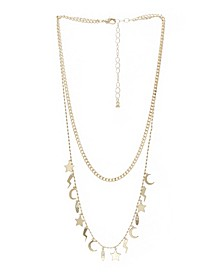 Icon 2 Row Multi Layer Necklace