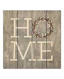 """Home 12"""" x 12"""" Wood Pallet Wall Art"""