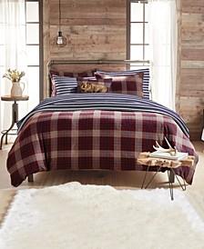 G.H. Bass Canyon Plaid King Comforter Set