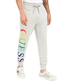 Men's Arthur Ombré Rainbow Logo Joggers