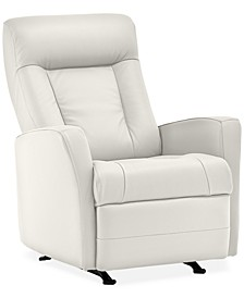 "Faversham 31"" Leather Manual Rocker Recliner"