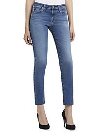 Raw-Hem Jeans