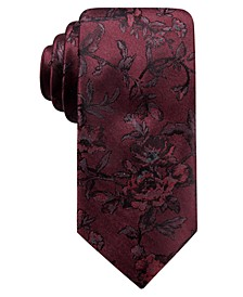 Men's Glendo Slim Floral Silk Tie, Created For Macy's
