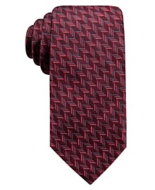 Men's Phelps Slim Geo Silk Tie, Created For Macy's