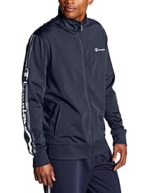 Men's Logo-Stripe Track Jacket