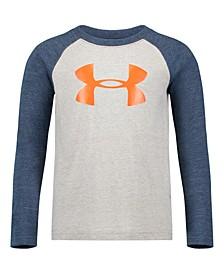 Little Boys Logo-Print Raglan T-Shirt