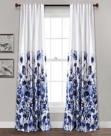 Zuri Floral Curtain Sets