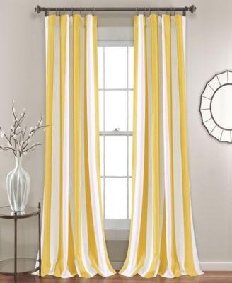 """Wilbur Stripe 52"""" x 95"""" Curtain Set"""