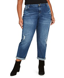 Plus Size Dillon Ripped Boyfriend Jeans