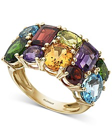 EFFY® Multi-Gemstone Statement Ring (7-1/5 ct t.w.) in 14k Gold