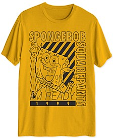 Spongebob I'm Ready Men's Graphic T-Shirt