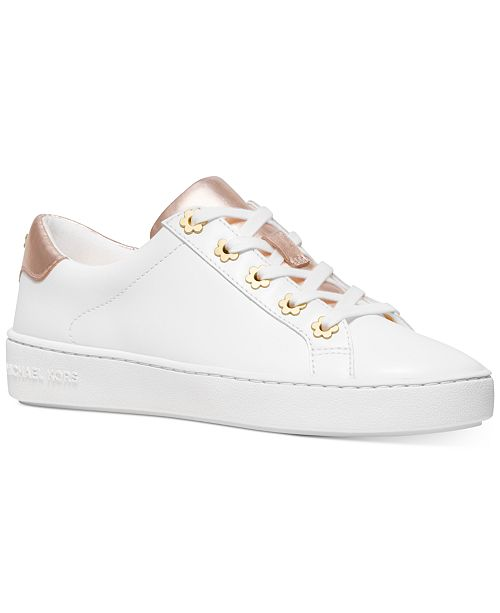 Michael Kors Irving Stripe Lace Up Sneakers & Reviews