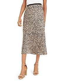 Printed Slip Skirt