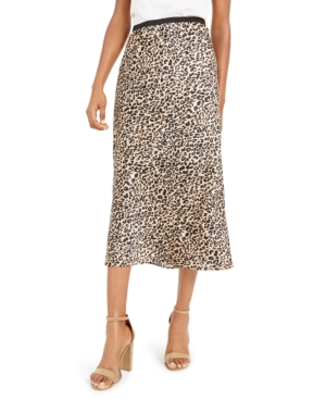 French Connection Skirts PRINTED SLIP SKIRT