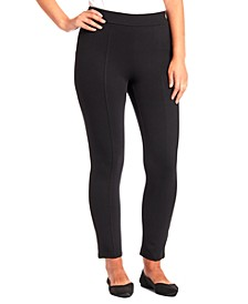 Front-Seam Ponté Leggings