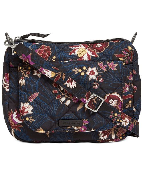 Vera Bradley Performance Twill Carson Mini Shoulder Bag