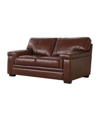 Harper Leather Loveseat