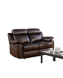 Kamryn Leather Recliner Loveseat