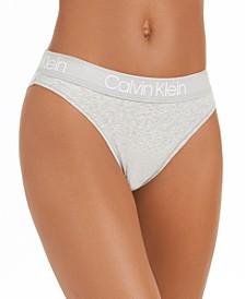 Women's Cotton High-Leg Tanga Underwear QD3755
