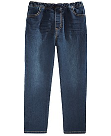 Toddler Boys Stretch Drawstring Jeans, Created For Macy's
