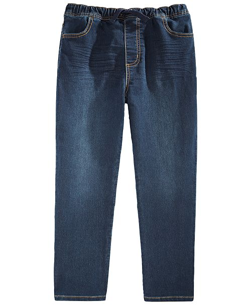Epic Threads Little Boys Stretch Drawstring Jeans, Created For Macy's