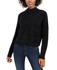 Fuzzy Mockneck Sweater