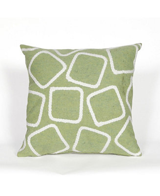 Liora Manne Visions I Squares Indoor Outdoor Pillow 20
