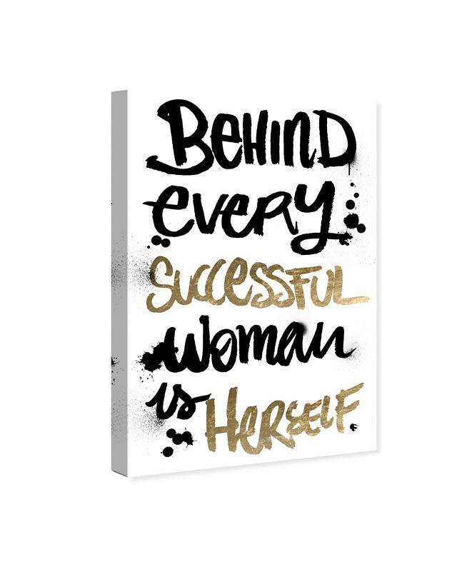 """Oliver Gal Successful Woman Canvas Art, 10"""" x 15"""""""