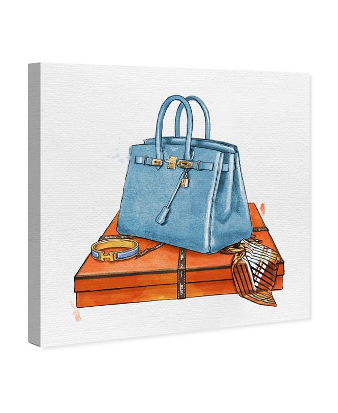 "Oliver Gal My Bag Collection III Canvas Art, 36"" x 36"""
