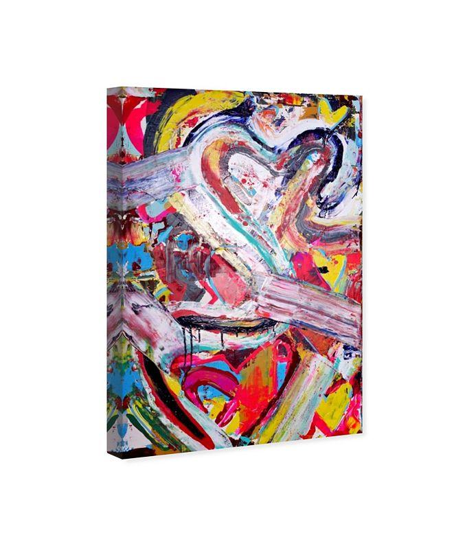 "Oliver Gal Love Remix Canvas Art, 16"" x 24"""