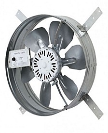 Automatic Gable Mount Attic Ventilator Fan