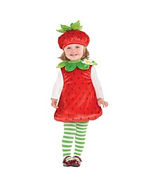 Baby Girls Strawberry Baby Costume