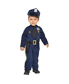 Infant Boys Cop Recruit Costume