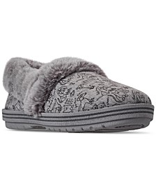 Women's BOBS Too Cozy Forever Paws Slipper Shoes from Finish Line