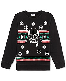 Big Boys Darth Vader Holiday Sweatshirt
