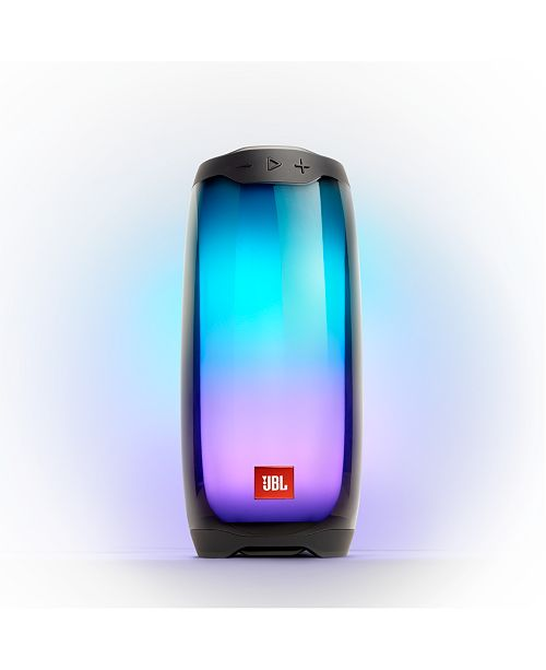 Jbl Pulse 4 Waterproof Portable Bluetooth Speaker With 360 Lightshow And Sound Reviews Home Macy S