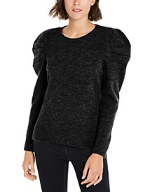 INC Puff-Sleeve Sweater, Created for Macy's