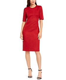 Crewneck Sheath Dress