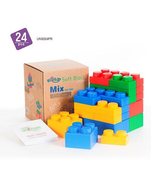 UNiPLAY Tensquare  6 Plump and 18 Basic Mix Series 24 Piece Set