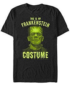 Universal Monsters Frankenstein Costume Men's Short Sleeve T-shirt