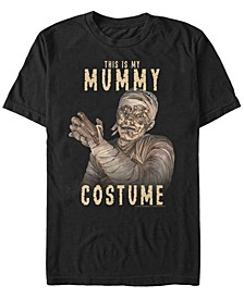 Universal Monsters Mummy Costume Men's Short Sleeve T-shirt