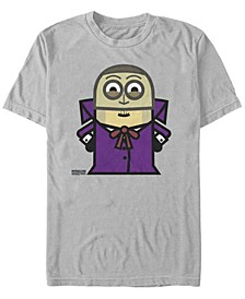 Despicable Me Men's Minions Phantom Halloween Monster Short Sleeve T-Shirt
