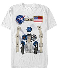 Nasa Men's Astronaut Suit Costume Short Sleeve T-Shirt Short Sleeve T-Shirt