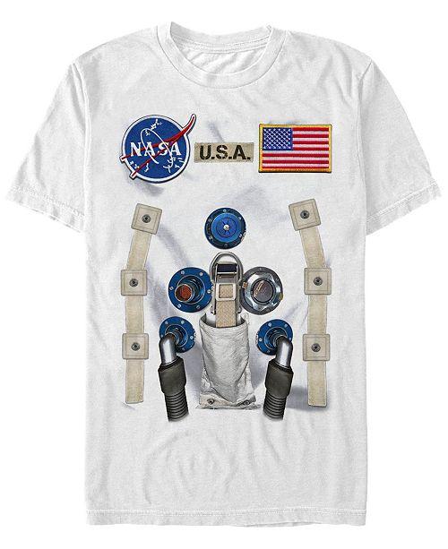 Fifth Sun Nasa Men's Astronaut Suit Costume Short Sleeve T-Shirt Short Sleeve T-Shirt