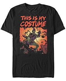 Marvel Men's Classic Green Goblin Halloween Costume Short Sleeve T-Shirt